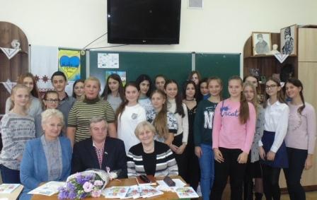 Роман КУХАРУК ПОВЕРНУВСЯ У РІДНУ ШКОЛУ