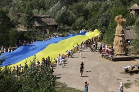 День українського прапора. Свято урожаю. Обжинки.