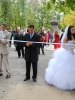 «Alley of the newly-weds» opened in Hlukhiv city (Sumy region)